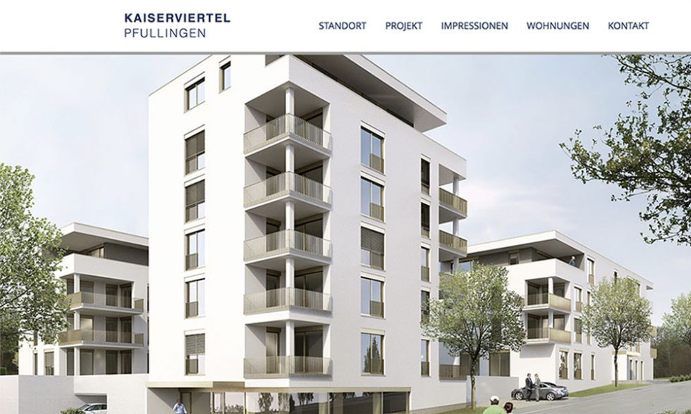 "Website ""Kaiserviertel"" Online"